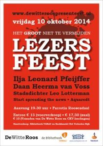 Lezersfeest 2014 flyer