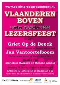 WR flyer Lezersfeest 2015